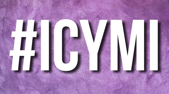 #ICYMI