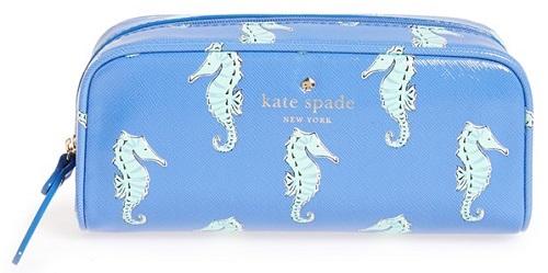 kate spade new york Seahorses Cosmetics Bag