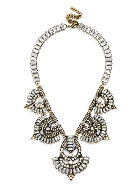 Garbo bib necklace