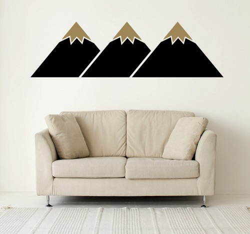 Mountain Wall Decal