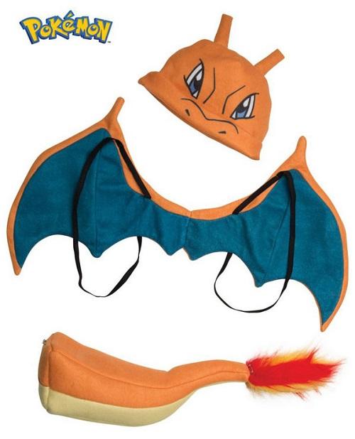 Pokemon Charizard Accessory Kit costume