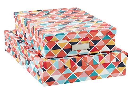 Bigso Prism Stockholm Office Storage Boxes