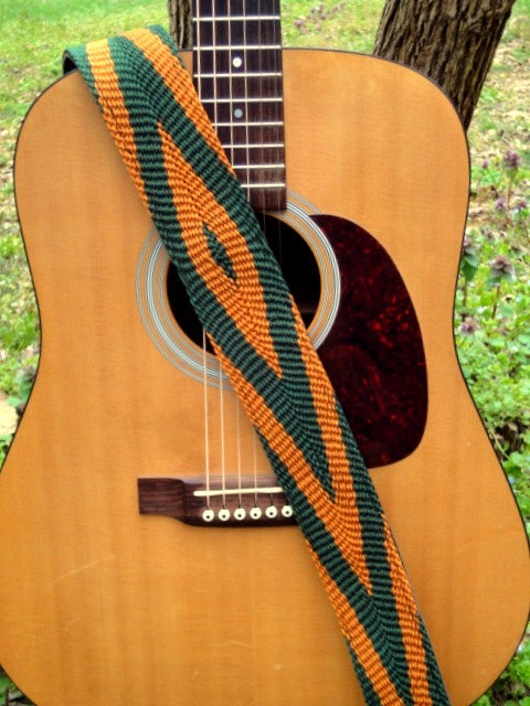 Seeworks braided guitar strap