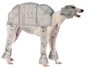 Funny Star Wars At-at Imperial Walker Dog Costume
