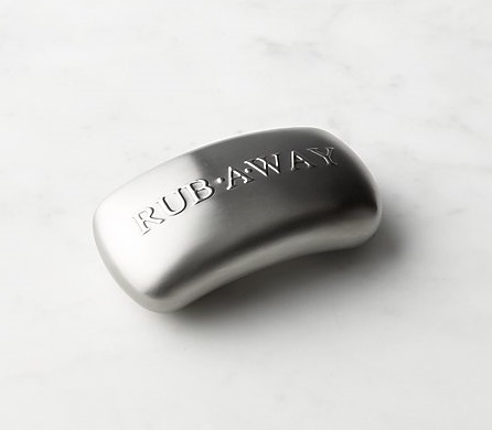 Rub Away Bar, $7.50