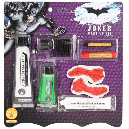 Batman Dark Knight The Joker Halloween Makeup Kit