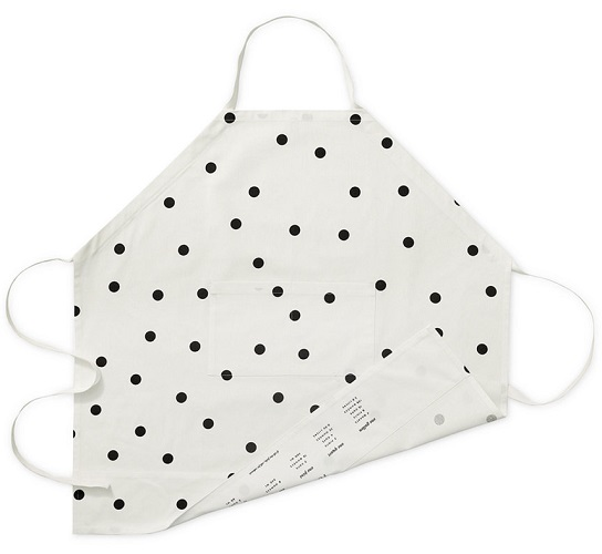 kate spade new york all in good taste Polka Dot Apron, $30
