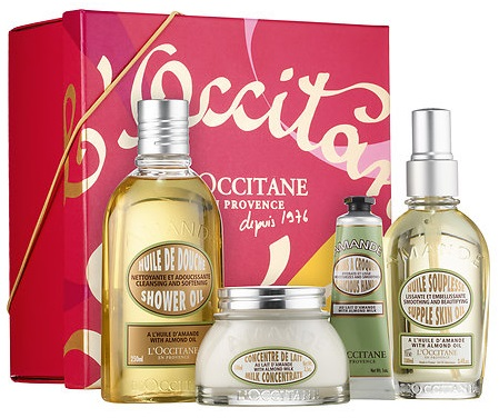 """L'Occitane Deliciously Addictive Almond, $89"""