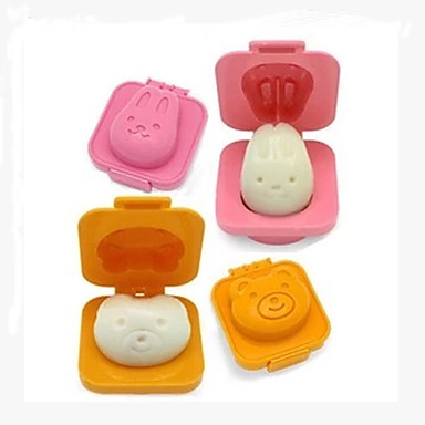 Cute 6 Piece Boiled Egg Sushi Rice Mold