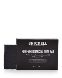 Brickell Purifying Charcoal Soap Bar