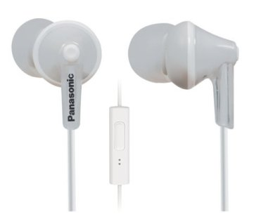 Panasonic ErgoFit In-Ear Earbud Headphones with Mic + Controller