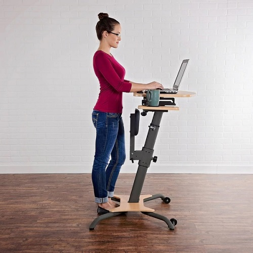 WIRK Linea Standup Workstation