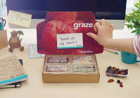 Graze box subscription