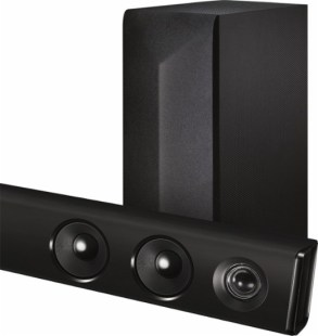 LG 3.1 Channel Soundbar System with Wireless Subwoofer and Amplifier