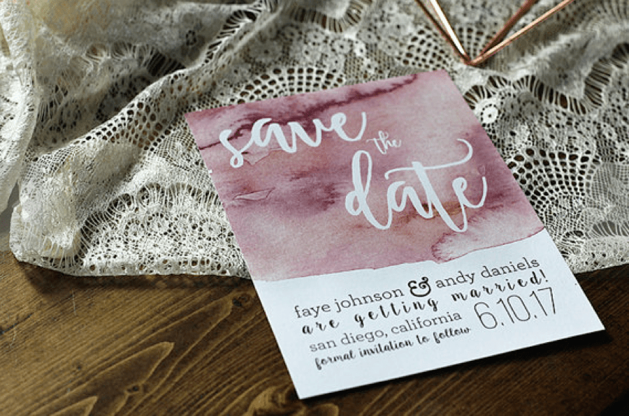 Personalized Save the Date Invitations