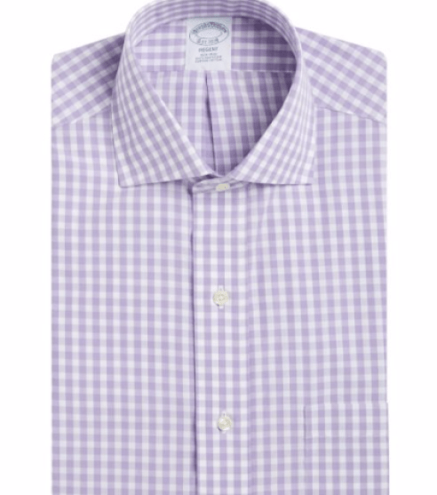 Brooks Brothers Gingham Dress Shirt
