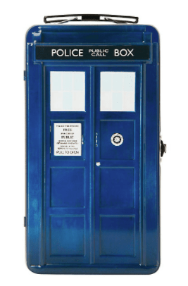Dr. Who Tardis Tote Lunch Box