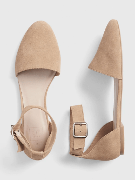 Gap Ankle Strap d'Orsay Flats