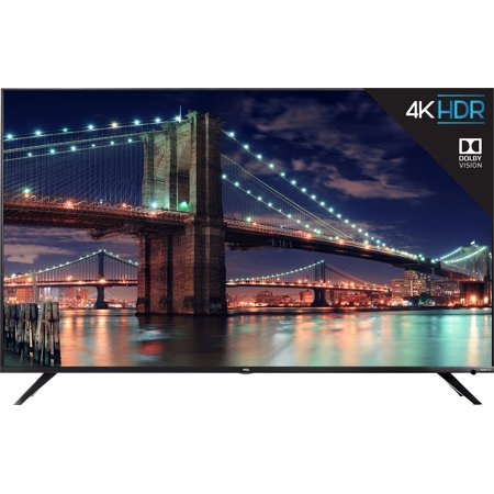 "TCL 55"" Class 4K Ultra HD (2160p) Dolby Vision HDR Roku Smart LED TV"