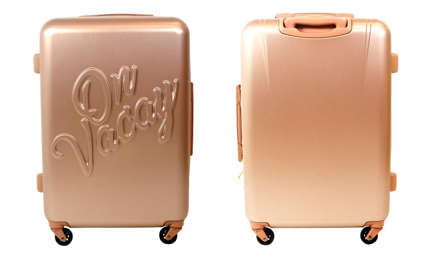 Macbeth On Vacay Collection Spinner Luggage
