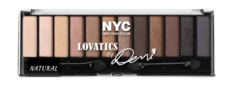 New York Color Lovatics By Demi Eyeshadow Palette