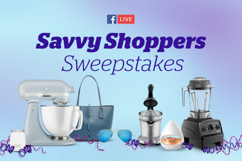 Savvy Shoppers Sweepstakes