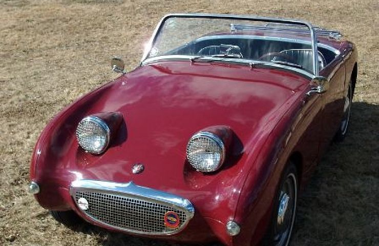 1959 Austin Healey  Bugeye  Sprite   eBay Motors Blog Austin Healey s Sprite  as it was technically known  was inexpensive to  produce   it used many parts already available from Austin  MG  and  Morris   and weighed