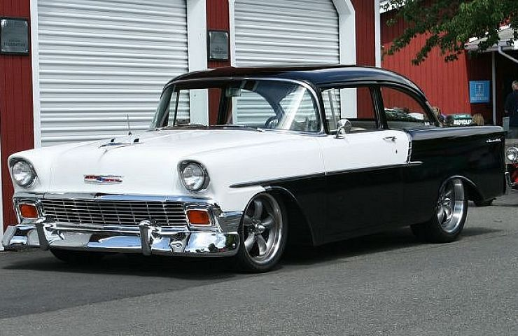 1956 Chevys  Still Hot  60 Years Later   eBay Motors Blog The 1955 Chevrolet was a tough act to follow  but the 1956 Chevy did an  excellent job of keeping the sales momentum going  Sales were down about  100 000