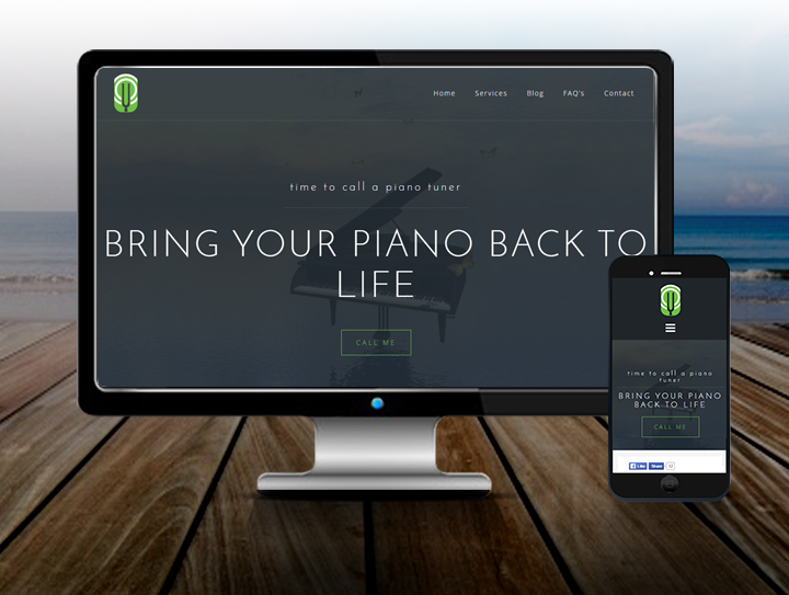 Piano Tuning Website