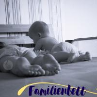 Familienbett - Hilfe mein Baby fällt aus dem Bett