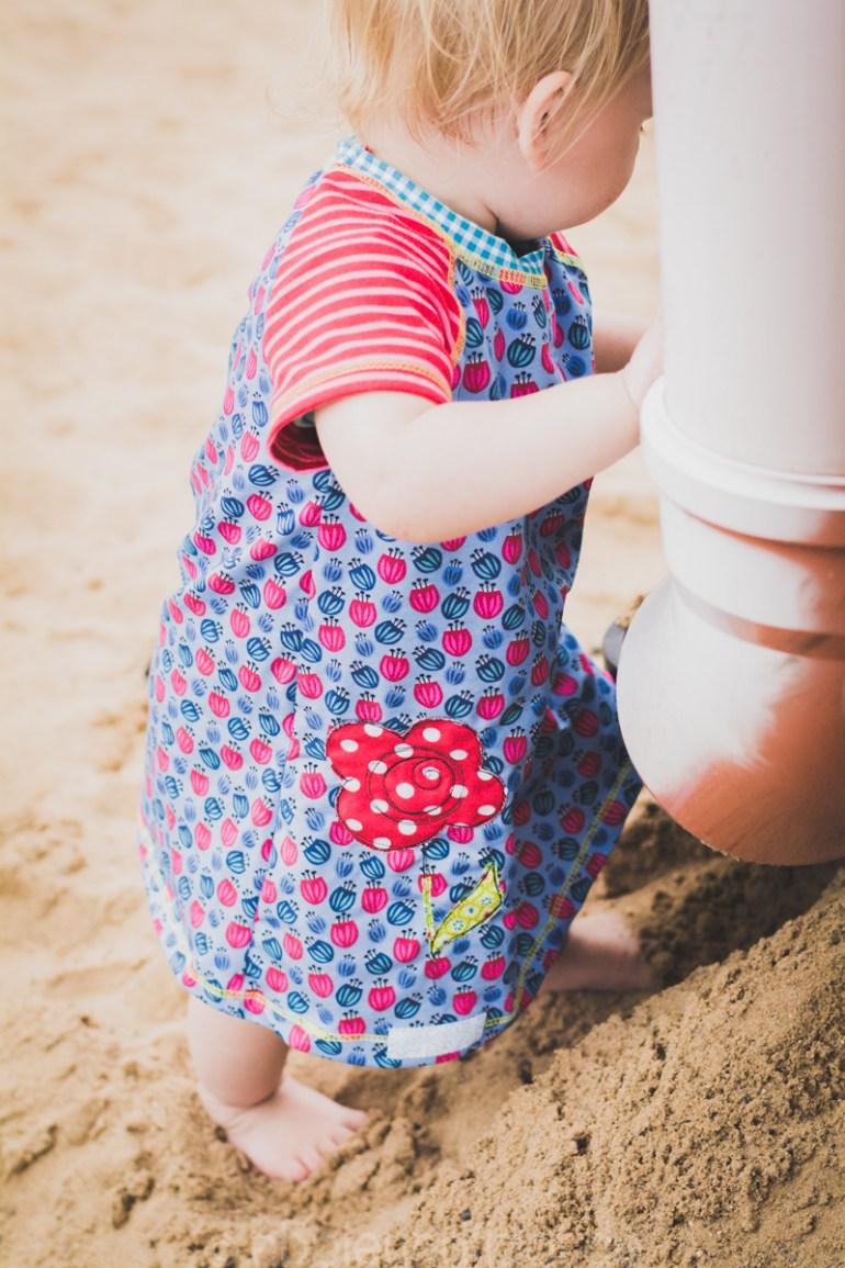 Buddeln im Sand