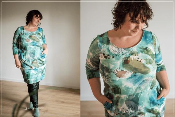 Kleid für große Größen nähen