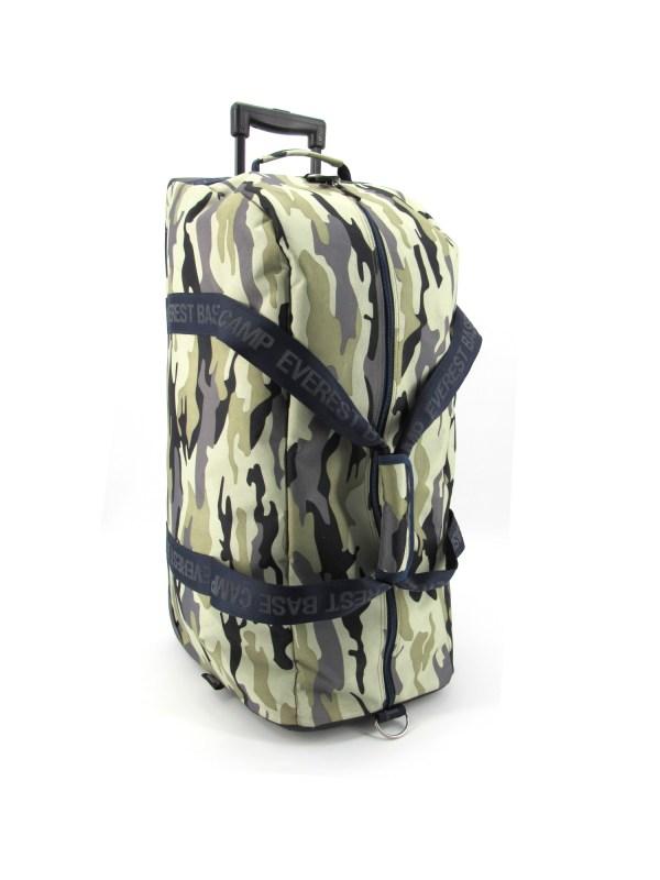 ebc5364 sac de voyage trolley camo army - EBC 5364