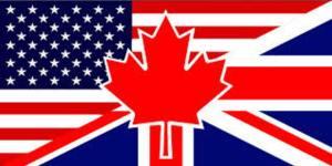 bandeiras de língua inglêsa
