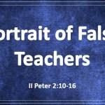 Portrait of False Teachers