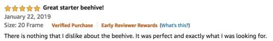 Mophorn Bee Box Review Testimonial