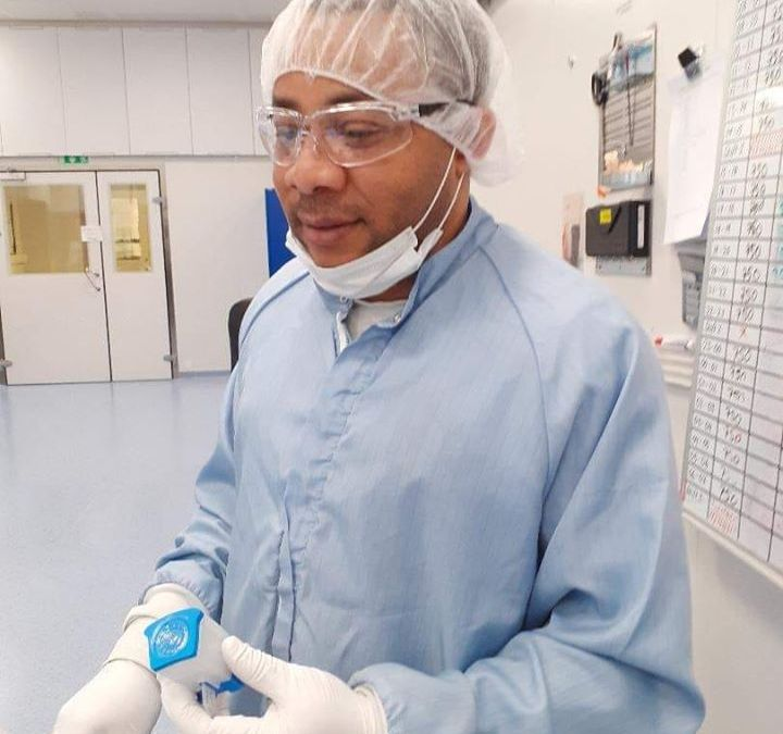 Pharm Ike Chinedu Klinsman, the man behind securing the new COVID-19 Test Kit for Nigeria – Engr. Eric Udichi