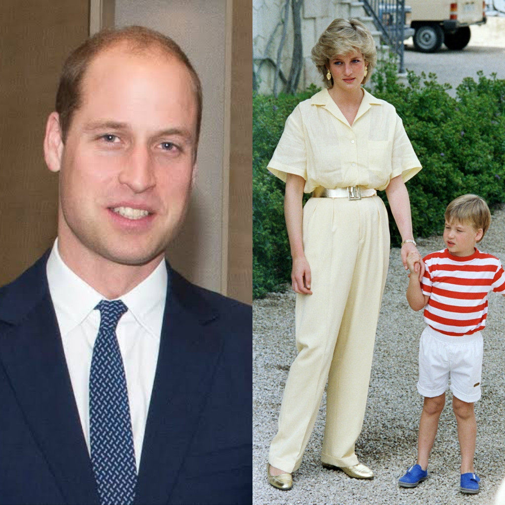 Prince William says his grief over his mum, Princess Diana's death resurfaced when he had kids