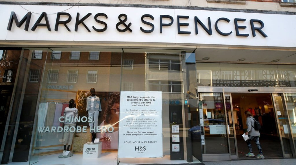 Marks & Spencer to slash 7,000 jobs over the next three months due to coronavirus pandemic