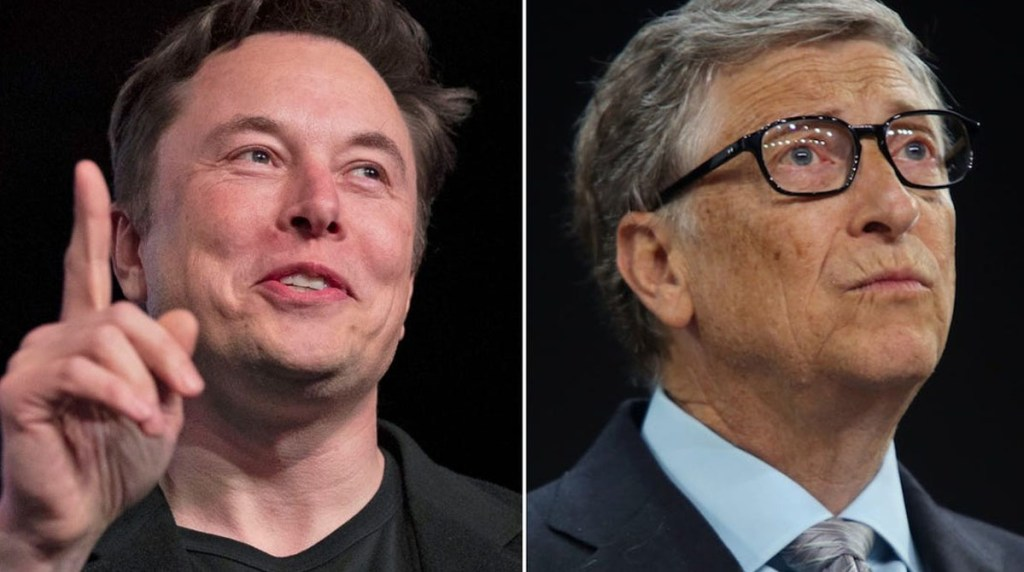Elon Musk overtakes Bill Gates to become the worlds second richest person a week after he 0vertook Mark Zuckerberg
