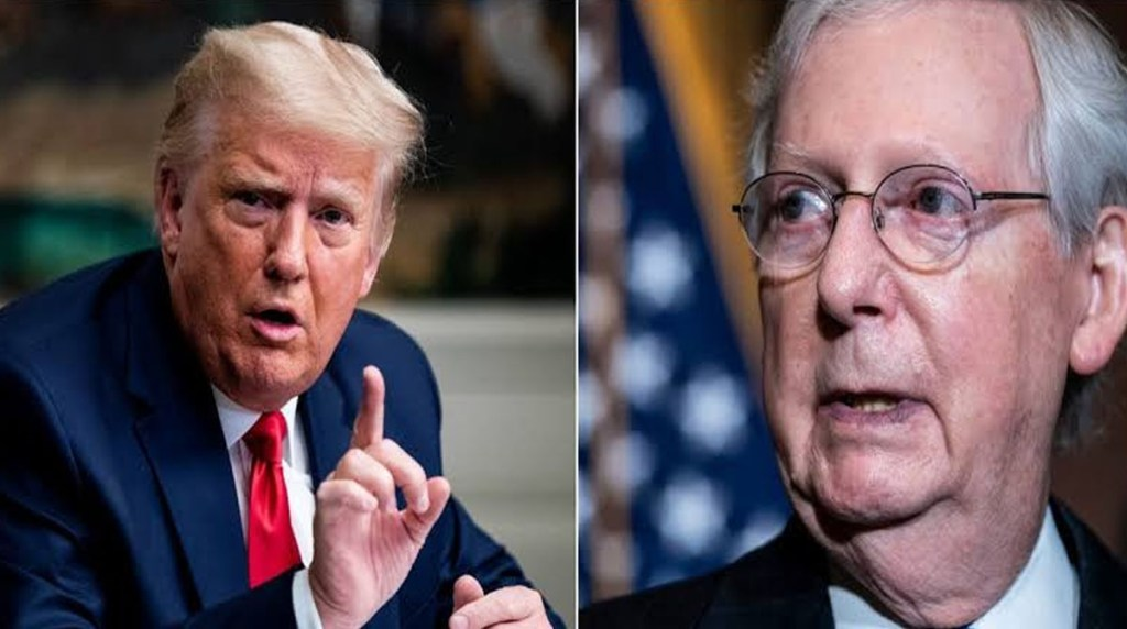 Trump makes an effort to give Americans extra $2,000 relief cheques stopped by Senate leader Mitch McConnell in a massive power play