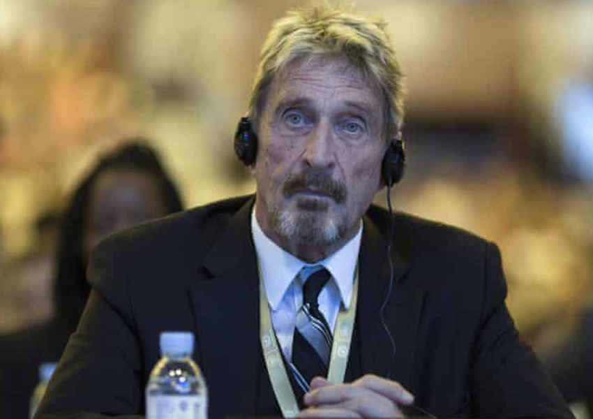 John McAfee, the founder of antivirus company McAfee, has been found dead in a Spanish prison