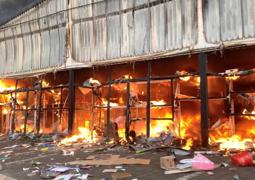More than 70 people killed and 1,000 arrested over five days as authorities fail to stop spiralling violence and looting in South Africa