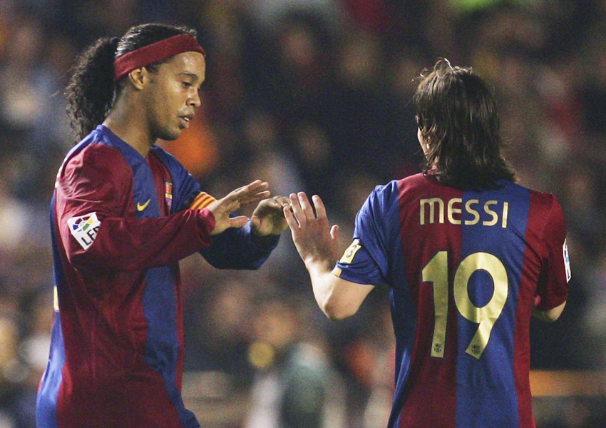Brazilian football legend Ronaldinho believes Paris Saint Germain will finally clinch the Champions League following the signing of Lionel Messi