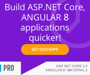 Build ASP.NET Core 2.2, Angular8 applications quicker - www.ebenmonney.com