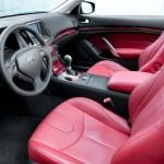 Infiniti G37 Convertible interior