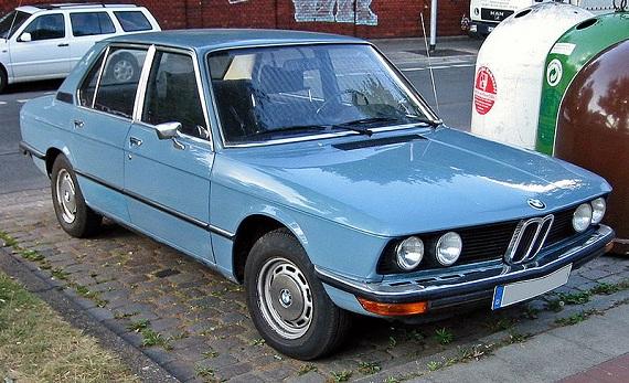 BMW e12 5 series 520 1973