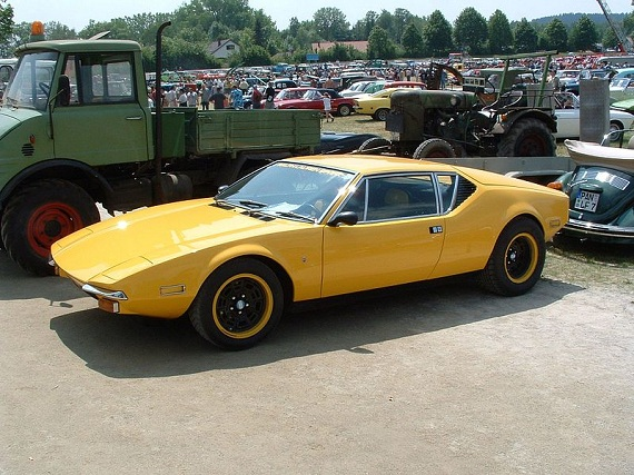 De Tomaso Pantera 1973 sports car
