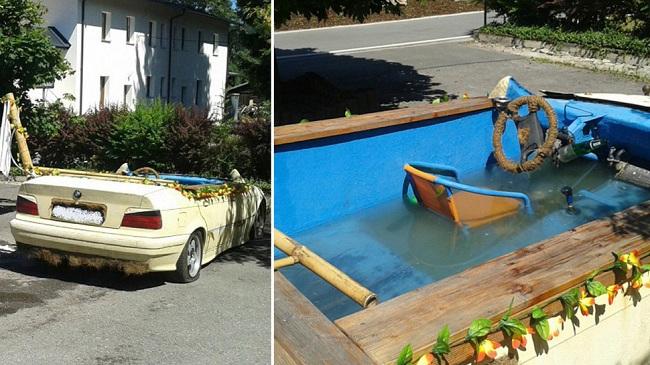 bmw german pool car