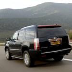 Cadillac Escalade rear view